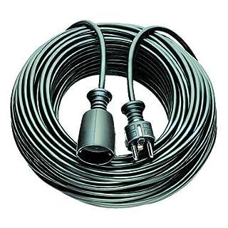 Asein Verlängerungskabel–Kabel Schlauch 5m h05vv-f3g1. 5schwarz