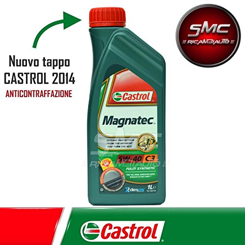 Huile moteur castrol magnatec 5W-40C3