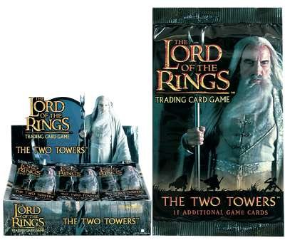 Herr der Ringe - The Two Towers Booster (englisch)