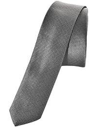 Sixth June - Cravate à quadrillages gris tendance et fashion