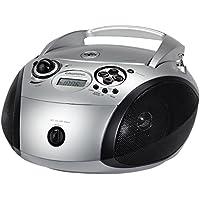 Grundig 1445  Radio CD USB Mp3, Nero/Argento