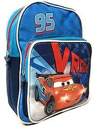 Preisvergleich für Kleiner Rucksack Cars mit Fronttasche - Lightning McQueen Schultasche für Kinder - Disney Pixar Kinderrucksäcke...