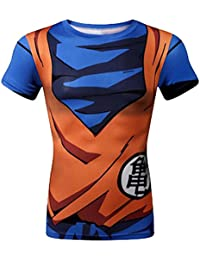 Brinny Klassische Anime Dragon Ball Z Super Saiyan 3D T-Shirt T-Shirt Cartoon Vegeta Armour T
