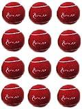 Splay Cricket-Ball/Tennisball, Rot 12Stück
