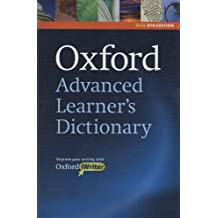 Oxford Advanced Learner's Dictionary, 8th Edition: Hardback with CD-ROM (includes Oxford iWriter) (Diccionarios)