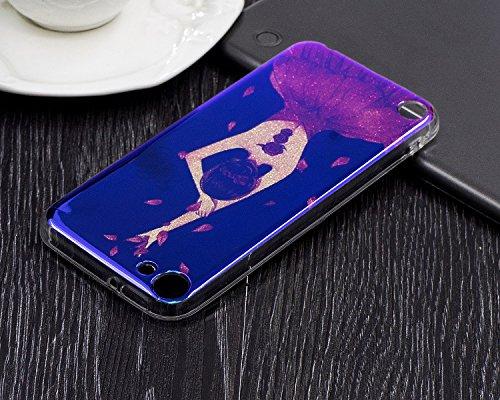 JIALUN-étui pour téléphone Pour Apple IPod Touch 5 & 6 Case, étui de couverture de couverture arrière imprimé ( Color : E ) F