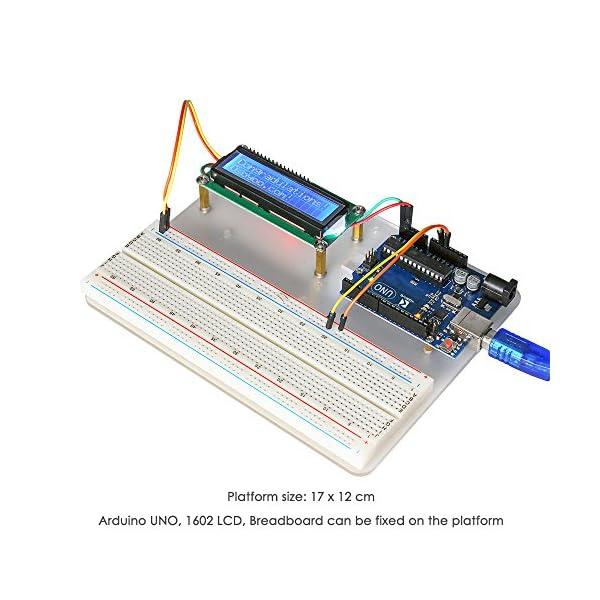 51NPcsG9BNL. SS600  - KOOKYE Uno R3 ATmega328 completo kit de arranque para Arduino con 19 proyectos