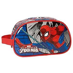 Spiderman Comic Neceser de Viaje, 24 cm, 3.36 litros, Multicolor