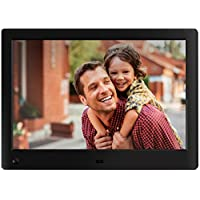 NIX Advance - 10 inch Widescreen Digital Photo Frame, for SD, USB, Various Display Modes, for Pictures and Videos, Black - X10H