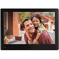 NIX Advance Marco Digital de Fotos y Videos 10 Pulgadas Widescreen X10H. Portafotos Pantalla IPS Full HD. Portarretratos electrónico USB, SD/SDHC. Incluye 8GB USB. Sensor de Movimiento