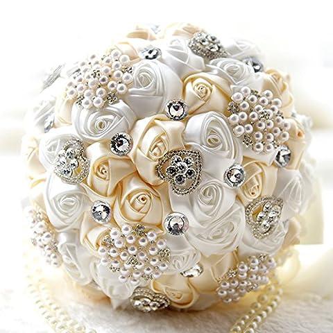 mariée Demoiselle d'honneur Bouquet de mariage Fleurs Artificielles