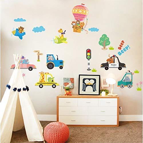 (ZMYZ Wandaufkleber DIY Wandaufkleber Für Kinderzimmer Jungen Baby Kindergarten Cartoon Wandtattoos Wohnkultur Kunst Poster Tapete)