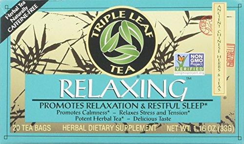 Triple Leaf Tea - Tè di distensione - 20Bustine di tè