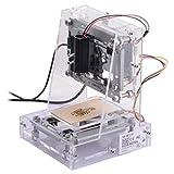 300MW USB Desktop DIY CNC Laser Gravierer Engraver Gravur Gravieren Schnitzen Schneiden Maschine Graviermaschine Drucker Laserdrucker transparent