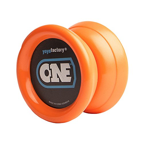 yoyofactory YO-001 - Yoyo, inklusive 2 Lager, orange