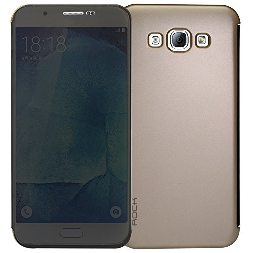 Rock Dr V Smart Flip Cover Protective Case for Samsung Galaxy A8 (Gold)  available at amazon for Rs.399
