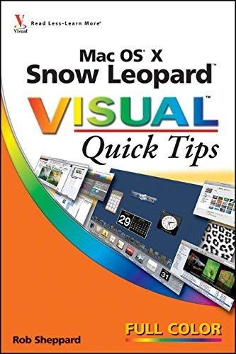 Mac OS X Snow Leopard Visual Quick Tips by Rob Sheppard (2009-10-05) par Rob Sheppard