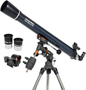 Celestron Astromaster 90eq Telescope Camera Photo