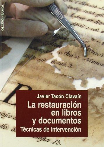 La restauración en libros y documentos: Técnicas de reparación