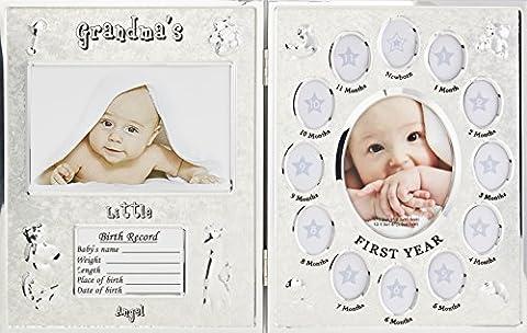 Hugs & plus Première Année Cadre Photo/naissance Record Coffret cadeau