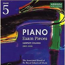 Piano Exam Pieces 2005-2006: Grade 5