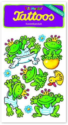 Lutz Mauder Lutz mauder44618der Frosch King Eisen Henry Tattoo (One Size)