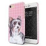 Glitbit Funda para iPhone 7/8 Case Cute Yorkshire Terrier Dog Puppy...