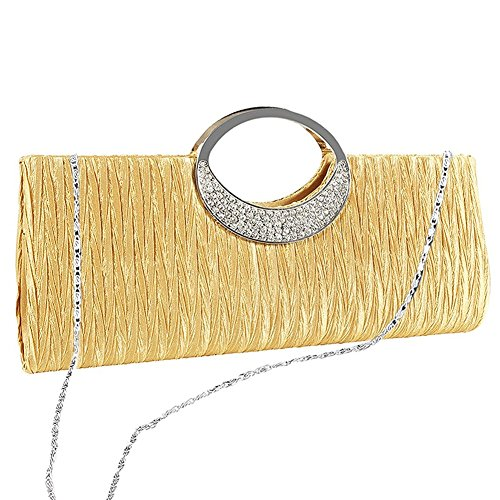 Clutch Damen , Taschen , Umhängetasche , Handtaschen - für Partei , Beiläufig , Hochzeit - PRIAMS 7 Gelb