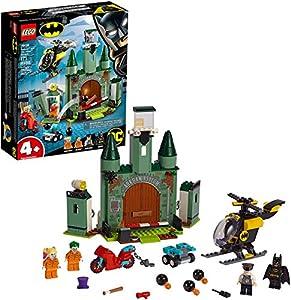LEGO Super Heroes - Batman y la Huida del Joker Juguete de construcción de Aventuras de Superhéroes, incluye la Prisión de Arkham y Minifigura de Harley Quinn, Novedad 2019 (76138)