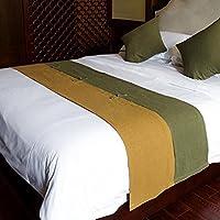 X & Y toalla de cama cama suministros alfombrilla de habitación de hotel en el final