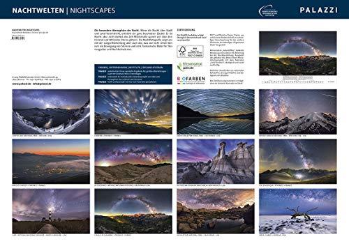 NACHTWELTEN 2020: NIGHTSCAPES - Kalender-Format 70 x 50 cm - Nacht-Fotografie - Sternen-Himmel - Milchstraße - Astronomie-Kalender Posterkalender - Wandkalender: Alle Infos bei Amazon