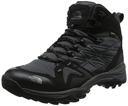The North Face Hedgehog Fastpack Mid GTX, Stivali da Escursionismo Alti Uomo, Nero (TNF Black/Dark Shadow Gr Zu5), 43 EU