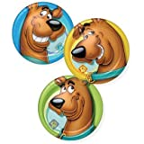 Scooby Doo Dessert Party Plates 8 in Pack 3 Different Designs All Close-ups by party express