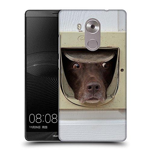 GoGoMobile TPU Gel Funda Carcasa Tapa Case Cover para // F00037021 Cioccolato labrador in catflap // Huawei Ascend Mate 8