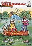 Die schönsten Volks- und Kinderlieder für Klarinette mit Bleistift -- 31 beliebte Melodien sehr leicht gesetzt für 1-2 Klarinetten in B mit Text und Akkordsymbolen (Noten/sheet music)