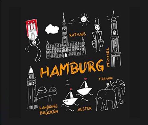 """Preisvergleich Produktbild Mousepad / Mauspad """" Hamburg """" Mousepad - lustige mousepads - Geschenkartikel - Computerzubehör"""