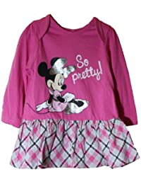 Disney Minnie Mouse 2PC Long Sleeve Dress Set 6-9 Months