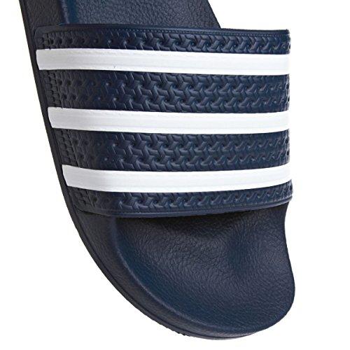 adidas Adilette Ciabatte Unisex – Adulto blue-white (288022)