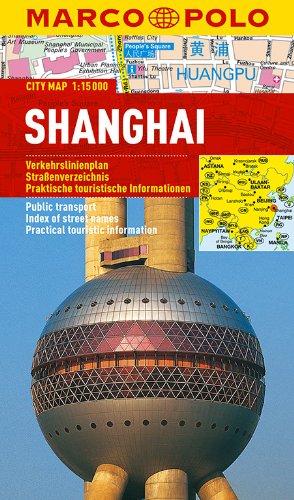 MARCO POLO Cityplan Shanghai 1:15 000: Stadsplattegrond 1:15 000 (MARCO POLO Citypläne) -