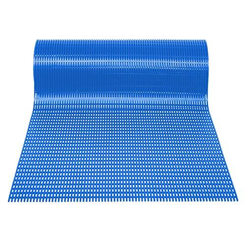 Mats Inc. Airpath-Matten, 90 x 152 cm, Blau - Recycling-kokos