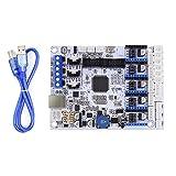 PoPprint GT2560Reglerkarte mit USB-Kabel, kompatibel mit A4988 StepStick Schrittmotor-Treiber für 3D-Drucker, 2