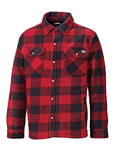 Dickies Thermohemd Portland Dickies Holzfällerhemd Rot Gr. L