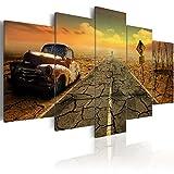 murando - Bilder 200x100 cm Vlies Leinwandbild 5 tlg Kunstdruck modern Wandbilder XXL Wanddekoration Design Wand Bild - Auto 020112-22