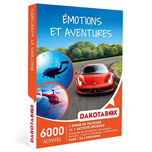 DAKOTABOX - Émotions et aventures - Coffret Cadeau Sport & Aventure - 1 stage de...