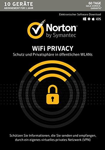 Norton WiFi Privacy für 10 Geräte