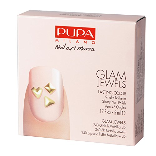 PUPA NAIL ART MANIA GLAM JEWELS 001 SMALTO