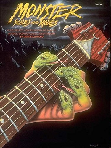 Monster Scales And Modes: By Dave Celentano (1991-12-01)