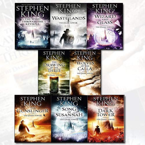 Price comparison product image Stephen King Dark Tower Collection 8 Books Set (1 To 8 Books Set)