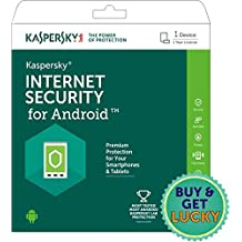Kaspersky Internet Security for Android Latest Version- 1 Device, 1 Year (Activation Key Card)