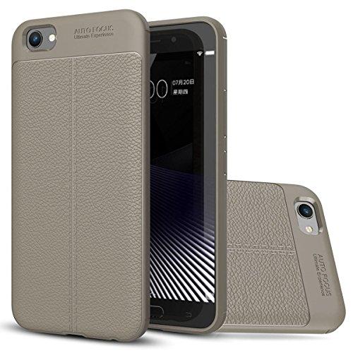 Vivo X9s Plus Weich Hülle,EVERGREENBUYING flexibel Silikon Cover TPU X9s+ Tasche Ultra-dünne Handyhülle Rückschale Case für VIVO X9s Plus (5.85 inch) Schwarz Grau